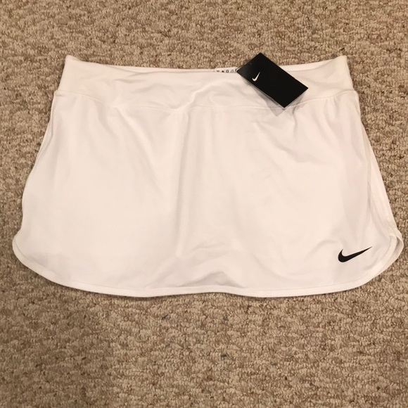 Nike Dresses & Skirts - White Nike Tennis Skirt